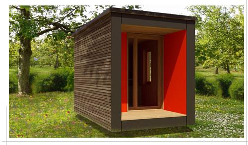 Bureau de jardin u grand confort bureau vert