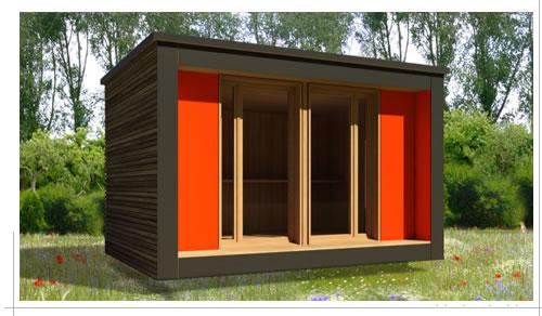 bureau de jardin confort plus bureau vert. Black Bedroom Furniture Sets. Home Design Ideas