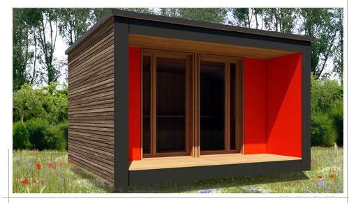 Bureau de jardin u grand confort plus bureau vert